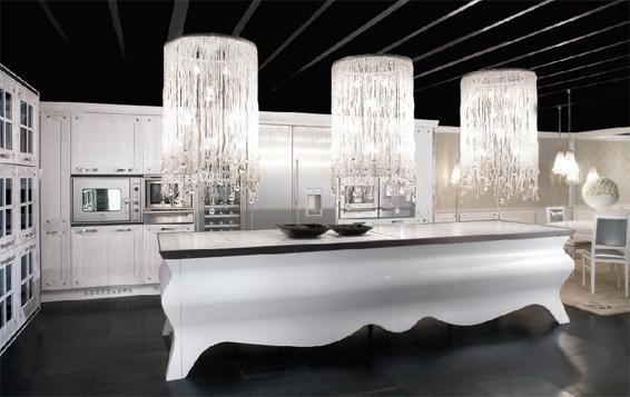 biala kuchnia 1 Nowoczesne białe kuchnie   8 różnych projektów