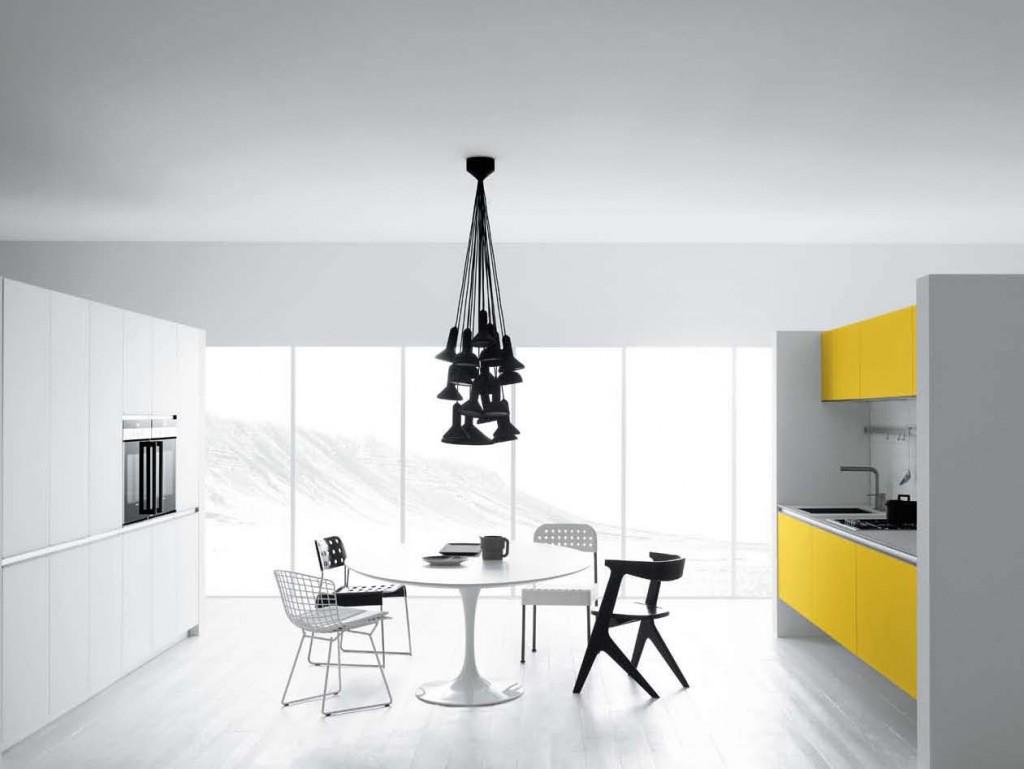 biala kuchnia 12 1024x769 Nowoczesne białe kuchnie   8 różnych projektów