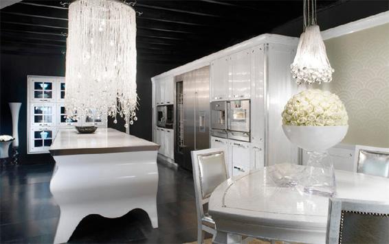 biala kuchnia 2 Nowoczesne białe kuchnie   8 różnych projektów