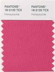 pantonehoneysuckle Różowy   kolor roku 2011