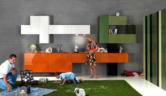 kolorowe kuchnie kombinacje kolorów lago 1 Kolorowe kuchnie