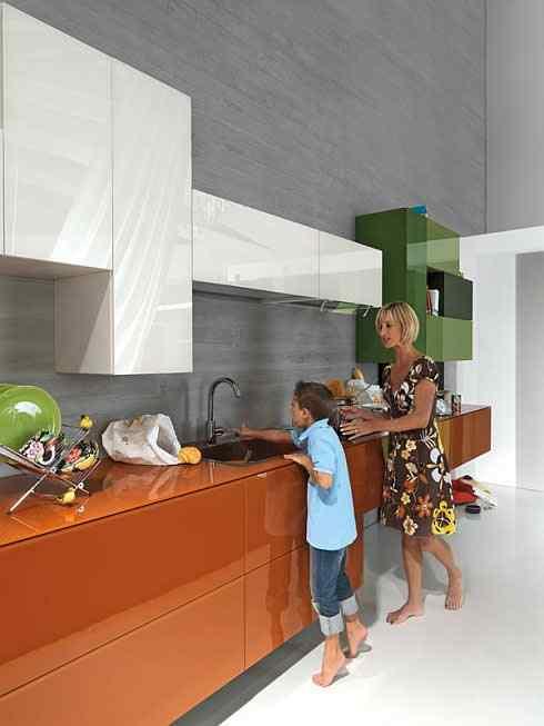 kolorowe kuchnie kombinacje kolorów lago 3 Kolorowe kuchnie