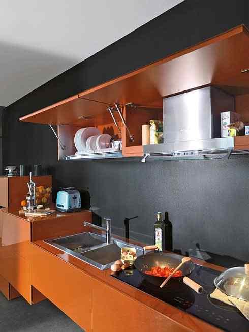 kolorowe kuchnie kombinacje kolorów lago 4 Kolorowe kuchnie