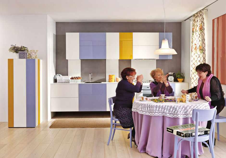 kolorowe kuchnie kombinacje kolorów lago 8 Kolorowe kuchnie