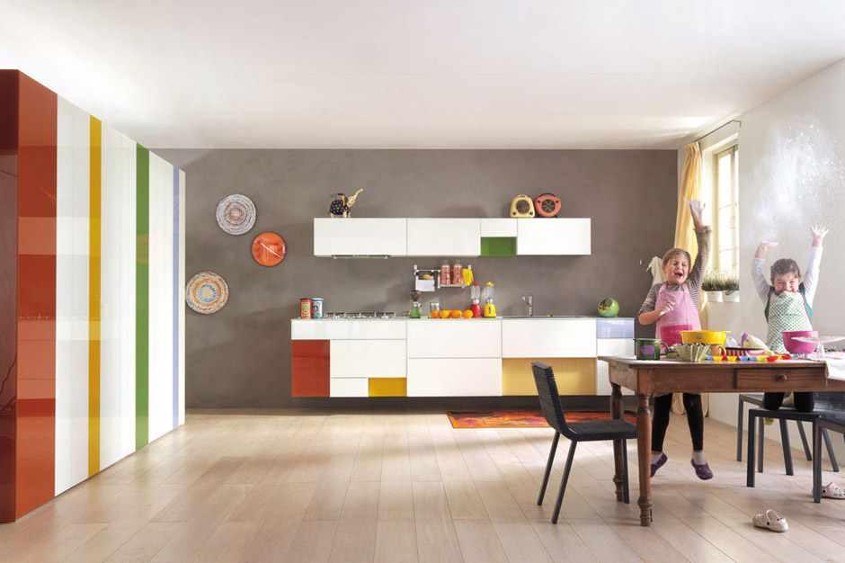 kolorowe kuchnie kombinacje kolorów lago 9 Kolorowe kuchnie